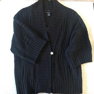 💥CK Oversized 3/4 Sleeve Knit Shrug Cardigan